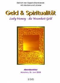 Geld & Spiritualität - Lady Money - die Wesenheit Geld - DVD- oder CD-Set