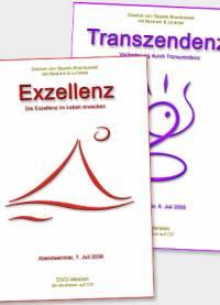 Exzellenz und Transzendez • DVD- oder CD-Set