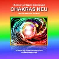 CHAKRAS NEU - CD - Geführte Meditation mit Musik